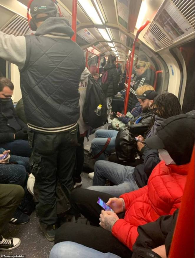 London's Tube network is busy again today as Sadiq Khan blamed staff sickness for the severely reduced timetable