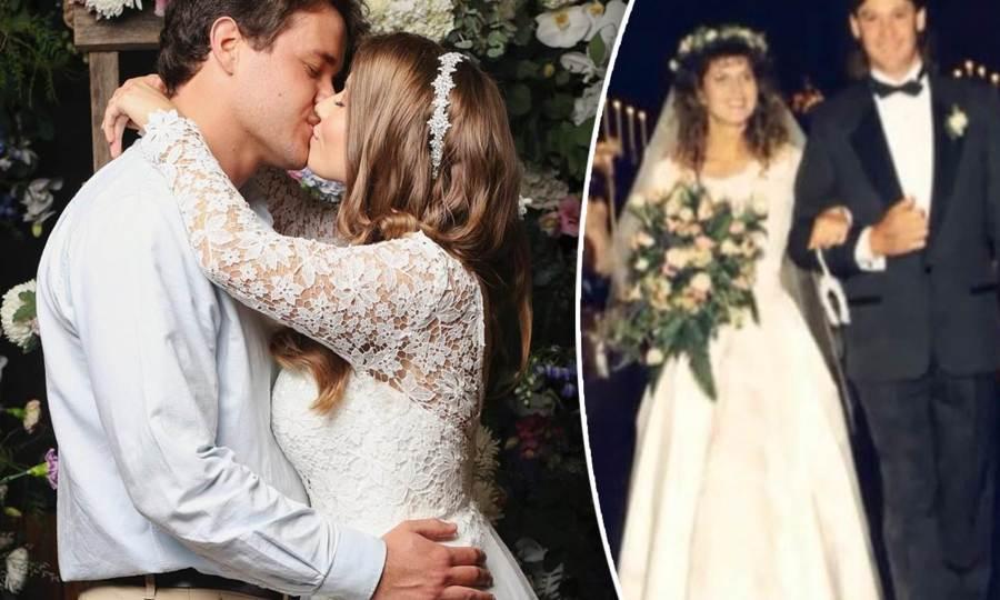 Bindi Irwin Wedding / Bindi Irwin Teases Her Wedding Dress ...
