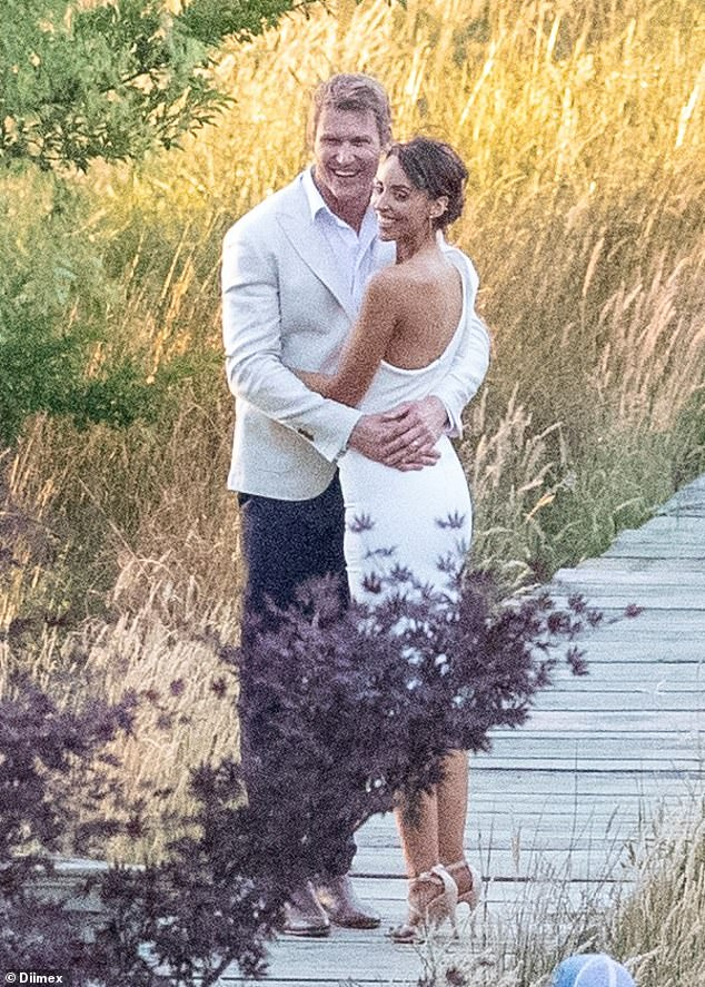 Spoiler alert! Married At First Sight's Elizabeth Sobinoff stunned in a white dress as she committed to Seb Guilhaus at the final ceremony, which was filmed in December