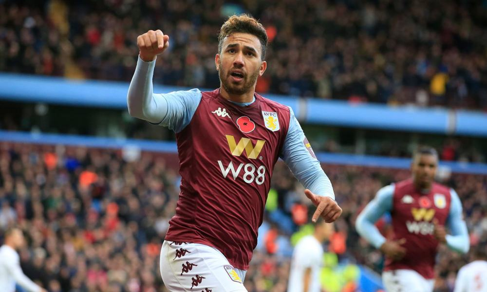 Besiktas eyeing up a move for Aston Villa forward Trezeguet | Daily Mail  Online