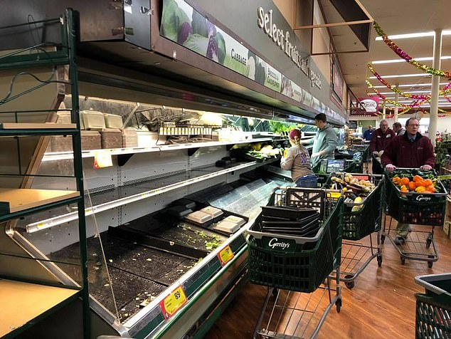 Last month, Gerrity's Supermarket in Luzerne County, Pennsylvania was forced to throw away $35,000 worth of food after a woman deliberately coughed over it in a twisted coronavirus prank