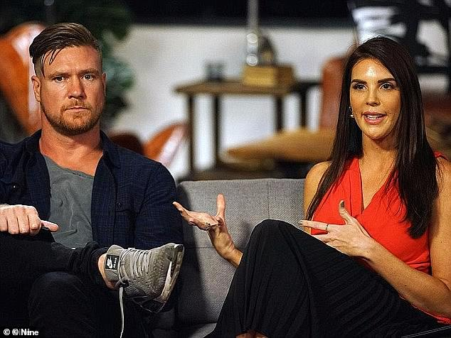 The alpha male: Men who claim to have 'traditional values' immediately pique the interest of MAFS producers - just look at season five star Dean Wells (left, with Tracey Jewel)