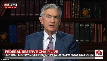 WATCH – 'The Virus is Going to Dictate the Timetable Here': Fed Chairman Jerome Powell Contradicts Trump on Opening Economy by Easter and Adds 'We May Well be in a Recession' in Very Rare TV Interview