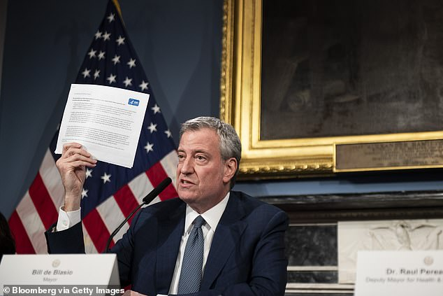 NYC Mayor Bill de Blasio has selected a street in the Manhattan, Brooklyn, Queens and The Bronx districts of New York City to