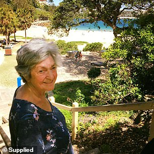 Sue Martin's mother 80-year-old Jean (pictured) is still 'fiercely independent'