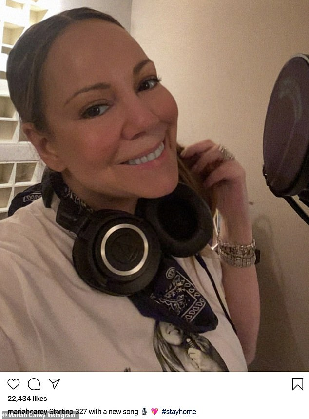 Birthday diva: Somehow, Friday marked the 50th birthday of the one and only Mariah Carey, who marked her big day with a simple yet exciting Instagram photo
