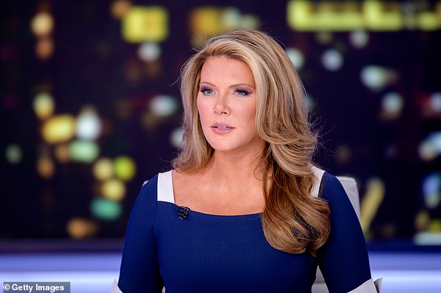 Regan (seen above during her February 28 broadcast on the Fox Business Network from a studio in New York City) has 'parted ways' with the company, it was announced last week. Regan controversially claimed that coronavirus was a 'scam' used to impeach Trump