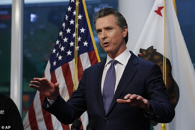 Trump has praised California Governor Gavin Newsom, who has complemented the president on his handling of the outbreak