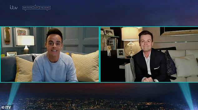 Changes:Ant McPartlin and Declan Donnelly presented the latest Saturday Night Takeaway from their living room as the nation remains in coronavirus lockdown