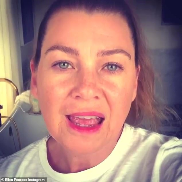 Earlier this month Grey's Anatomy star Ellen Pompeo, who has played Dr. Meredith Grey for 15 years on the show, paid tribute to doctors, nurses and healthcare professionals fighting the coronavirus pandemic