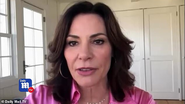 Dishing: Luann sat down exclusively with DailyMailTV from her New York home where she is self-quarantining due to the coronavirus and dished that this is the best season in years for the Housewives