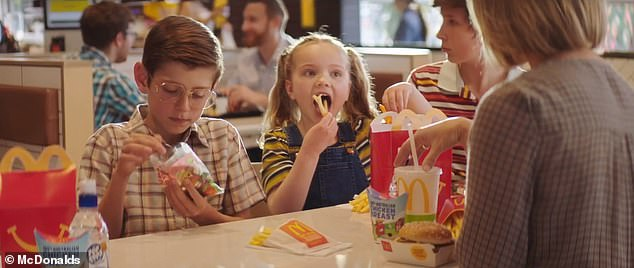 McDonald's has been forced to pull a television advertisement from the airwaves after claims it was aimed at children