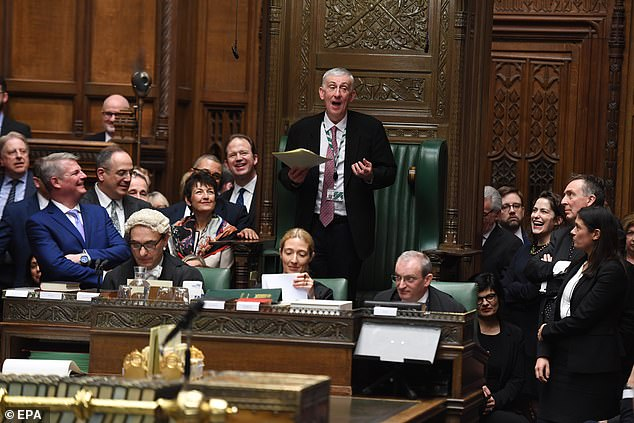 Sir Lindsay is keen to avoid scenes like these in a busy House of Commons while still allowing MPs to question ministers on vital subjects like the coronavirus pandemic