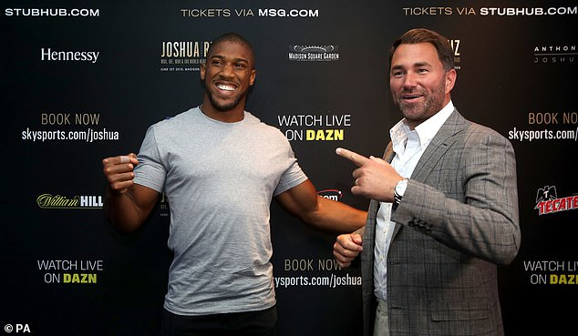 Miller says Hearn (right)