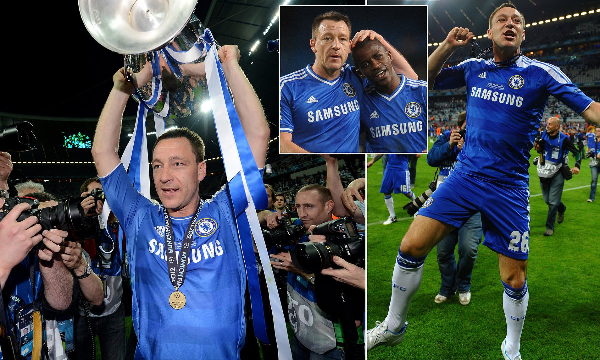 Chelsea News John Terry Says Champions League Win Was Best Moment