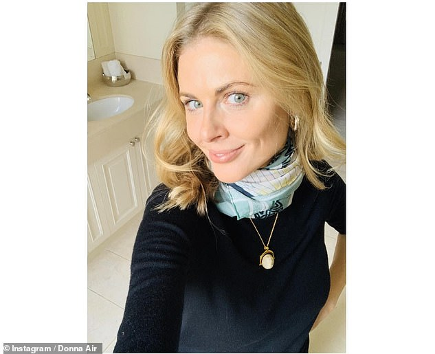Unwell:Dynamo joins a slew of stars who have publicly revealed they've tested positive for COVID-19, including Donna Air, who was diagnosed after developing 'mild flu-like symptoms'