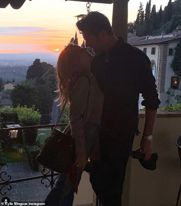 Love: Kylie honored her boyfriend Paul Solomons' birthday by sharing a couple snapshot on her Instagram last month