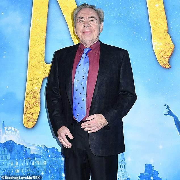 Lord Lloyd-Webber, 72, of London, has made available some of his most famous musicals for free on a YouTube channel