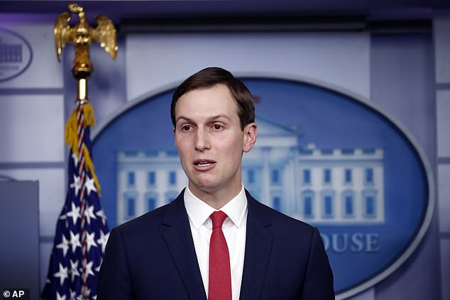 White House senior adviser Jared Kushner made a rare appearance in the briefing room amid reports about his expanded role in handling the coronavirus