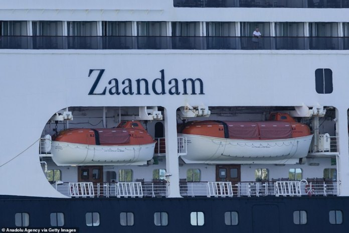 The bridges of MS Zaandam this morning. Healthy passengers transferred to MS Rotterdam, with 45 people invited to quarantine on board