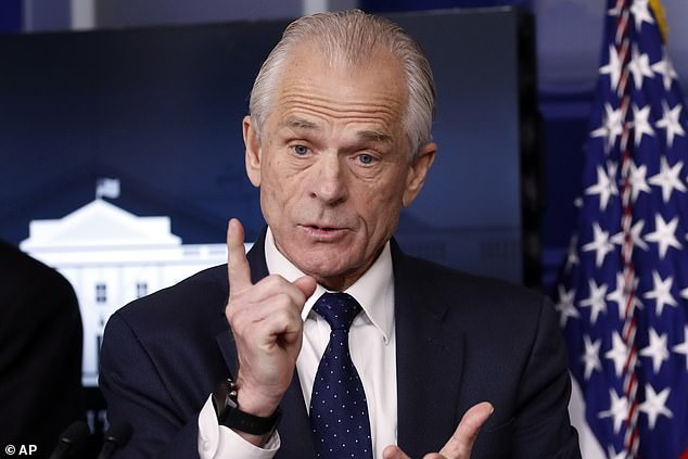President Trump appointed trade adviser Peter Navarro to be in charge of manufacturing
