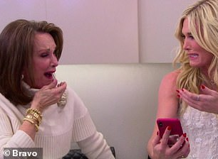 Iconic:Peter cut such memorable RHONY scenes as 'Tinsley and Dale crying over the eggs, [and] Luann falling into the bush'