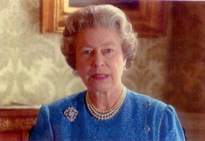 The Queen recorded a short television address to the nation during the 1991 Gulf War