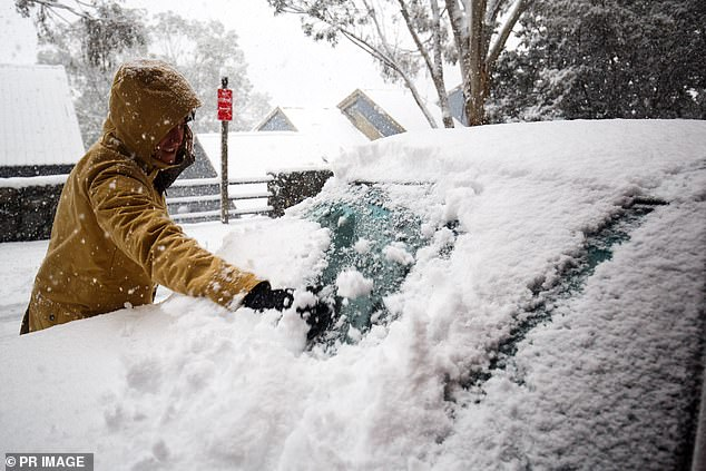 Meanwhile the cold fronts are likely to bring the first snowfall to Australia for 2020