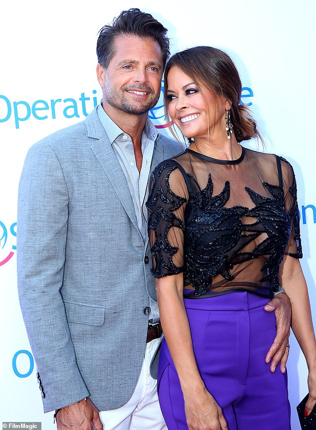 The way we were: Charvet and Brooke Burke were married for about seven years before they divorced in 2018; they share two children together