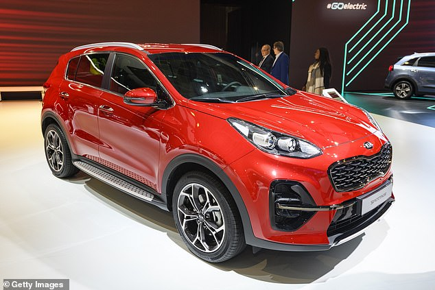 SUVs, which have risen to 21 per cent of vehicles on the road, are hit by the rise. The KIA Sportage will be charged up to £750 more to be on the road