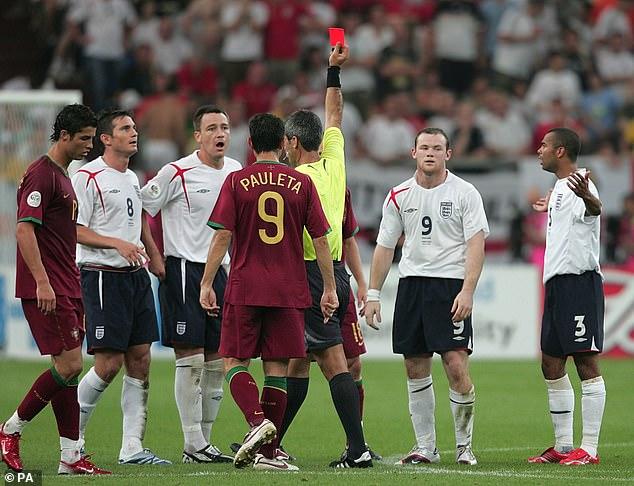 Rooney a été licencié et l'Angleterre a continué à sortir du tournoi aux tirs au but