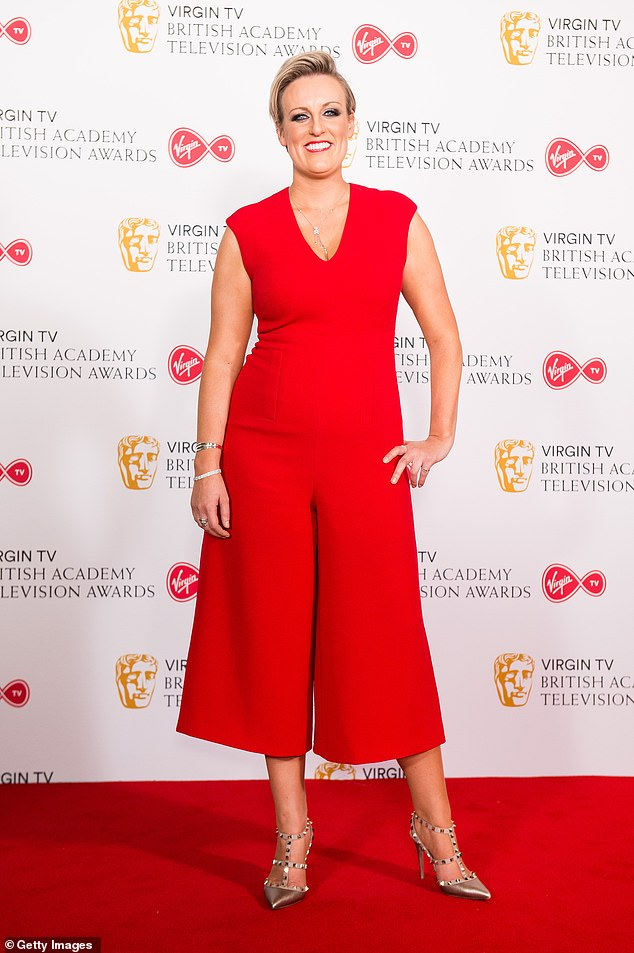 Bold: Steph recently revealed that she was asked to `` tone down '' her clothing choices by former BBC Breakfast chef after arriving in a red dress and heels for work
