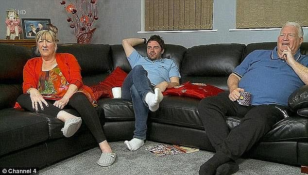 Long-lived: 36-year-old media personality became famous alongside her mother Linda and stepfather Peter McGarry on Gogglebox on the popular Gogglebox (photo)