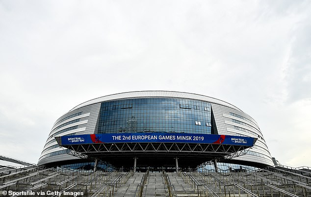 The 15,000-seat Minsk arena was donated to the UFC to host the à la carte event