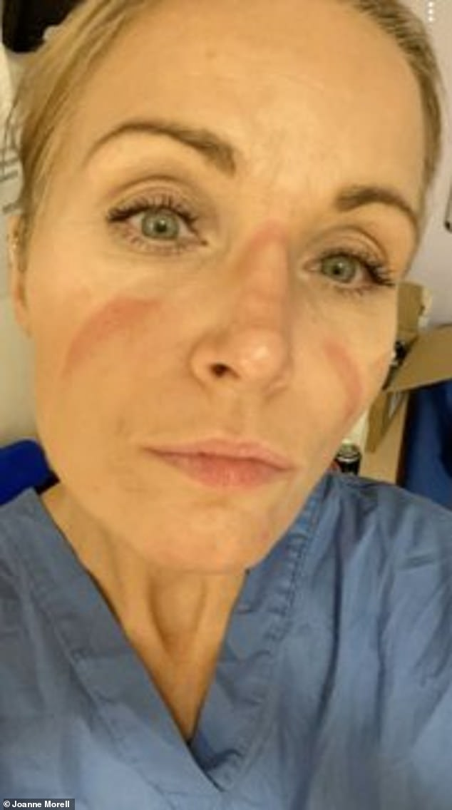 Joanne Morrell is an intensive care nurse at Huddersfield Royal Infirmary, she is warning 99% of the patients she sees on a daily basis have Covid-19, many of whom were previously fit and healthy young people who have been struck down by the virus