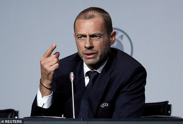 UEFA president Ceferin has calmed fans' fears that the season could be cancelled