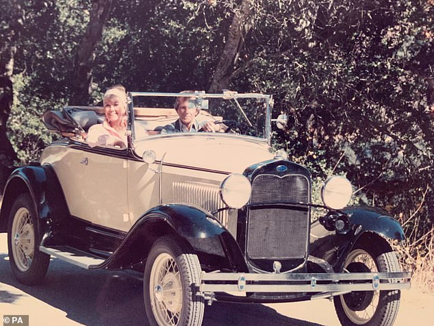 A 1930 Ford convertible - part of the film memorabilia, artwork and jewellery belonging to the late Hollywood star Doris Day which went up for auction