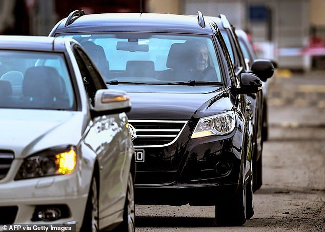 Cardinal George Pell was taken from prison in a convoy of three cars. He had spent more than a year indoors