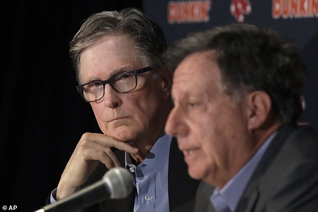 Henry has the reigning European champions alongside his Fenway Sports Group partner, Tom Werner (right). The group also owns the Boston Red Sox baseball team