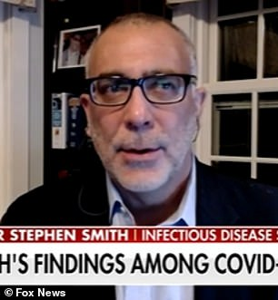 Stephen Smith, infectious disease specialist in New Jersey
