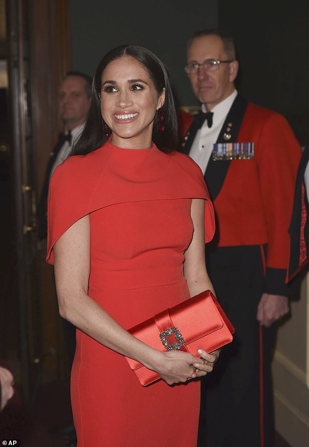 Prince Harry and Meghan Markle moved to California in March after they resigned as senior members of the royal family. But they now have to pay their security bill estimated at £ 4 million themselves, which could worry the couple. Meghan is pictured at the Royal Albert Hall in London in March