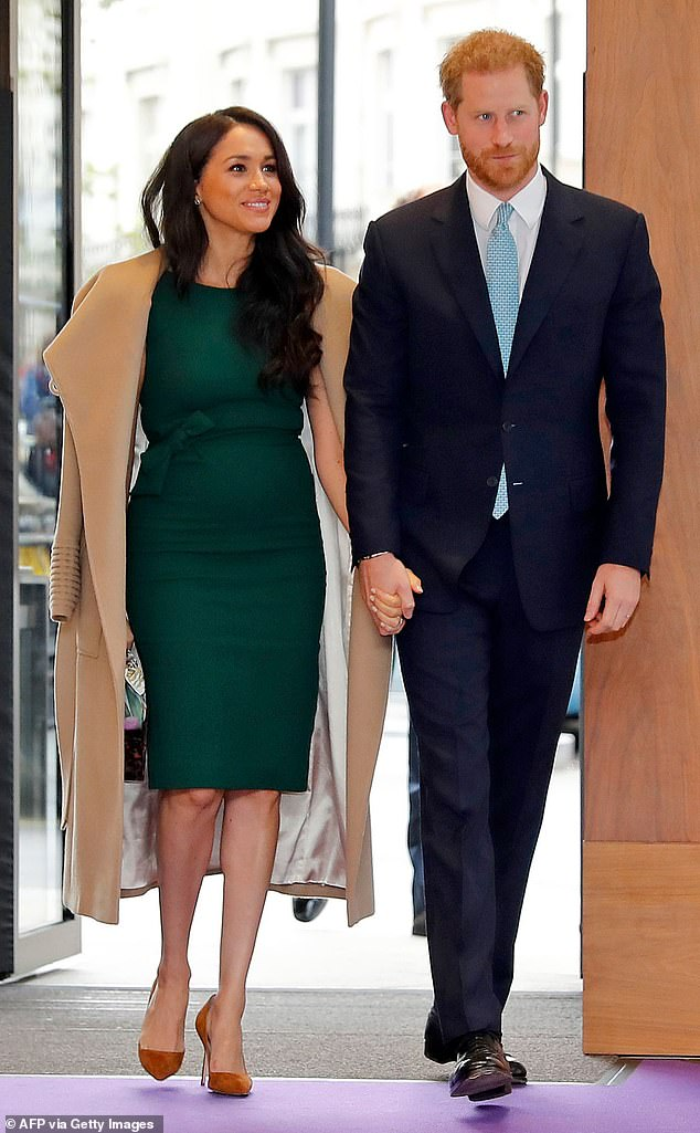 The Duke and Duchess of Sussex will find it difficult to pay for their safety and their current lifestyle, a royal expert revealed. The couple is photographed in London in October