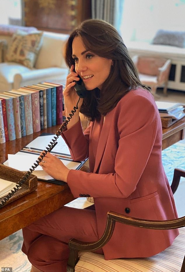 Experts told FEMAIL what the royal family's homework facilities reveal about their personalities, revealing how the Duchess of Cambridge had `` adapted '' the space to help her find a balance between work and motherhood