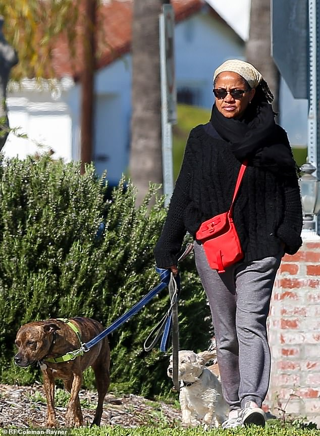 Despite her daughter's meteoric rise to stardom, yoga instructor Doria continues to live in a modest, Mediterranean-style bungalow in southern Los Angeles, which she inherited from her father.