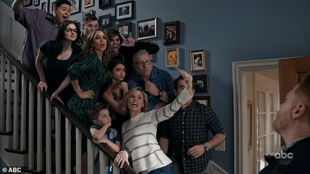 Big deal: Modern Family aired on Wednesday night as it netted 7.43 million viewers according to Deadline