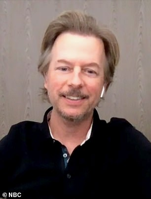 'It Depends': Comedian David Spade (pictured) discussed the possibility of playing Tiger King star Joe 'Exotic' Maldonado-Passage himself in a film version of the hit documentary series no. 1 from Netflix