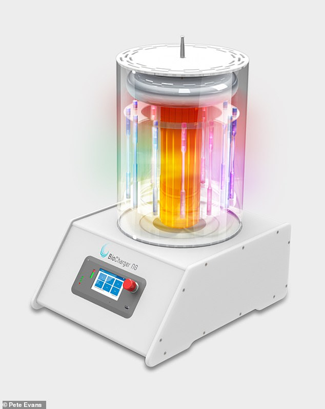 Really? The machine (pictured) claims to use 'Light, Frequencies & Harmonics, Pulsed Electromagnetic Fields (PEMFs), and Voltage. These are all natural energies found in nature'
