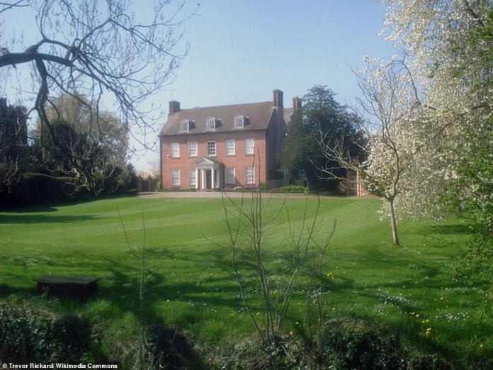 Robert Jenrick's home in Herefordshire, which he says is his family's home despite owning property in London and his constituency for his work as an MP