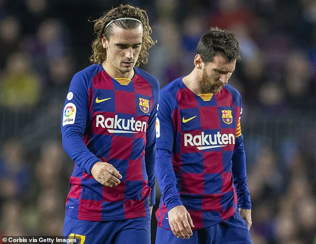 Lionel Messi and the rest of the Barcelona team suffered massive salary cuts in the middle of Covid-19