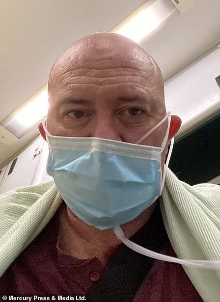 Craig Farley-Jones (photo) spent six days at Tameside General Hospital last week while fighting Covid-19